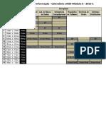 Calendario SI 2015-1 UAB 3 Modulo 6 v1