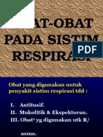 Obat-Respirasi
