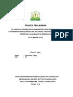 PROYEK PERUBAHAN