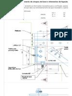 Verificação de Chapa de Base de Estrutura Metálica