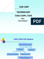 Technology of Cadcam