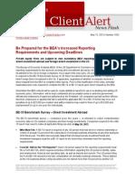 Lw BEA Reporting Requirements Deadlines