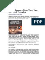 Sejarah Timor - Timur