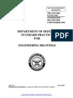 ENGINEERING DRAWINGS (S/S BY ASME-Y14.100, ASME-Y14.24, ASME-Y14.35M, AND ASME-14.34M)