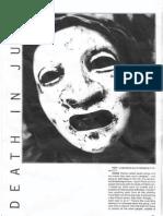 Death in June [Douglas Pearce] 1993 Interview Fist Zine Issue 5