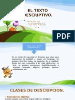 Exposicion El Texto Descriptivo