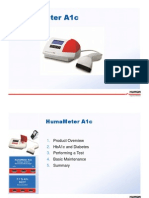 Humameter a1c Product Presentation