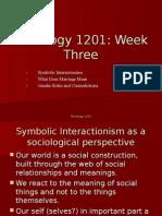sociology 1201 week three