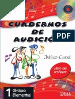 Cuadernos de audición Ibañez Cursa vol1