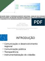 Slides apresentação Alcar