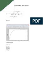 Prueba en Matlab de Control