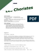 Choriste - Fiche Pour La Classe