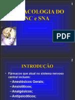 Aula 5 Farmacologia Do SNA e SNC