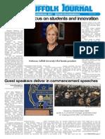 The Suffolk Journal Orientation Issue 2015