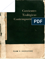 Mackintosh, Hugh R. - Corrientes Teológicas Contemporáneas COMPLETO