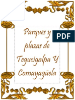 Parques de Tegucigalpa y Comayagüela