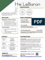 clebaron resume 2015