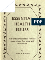 Charles Weisman Essential Health Issues