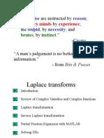 Ch 2 Laplace Transforms