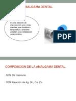 Amalgama y Conclusiones Generales