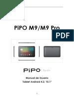 Manual de Usuario PiPO M9-M9Pro