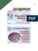 Slides - Bioquímica e Medicina e H2O