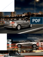 BMW 1series Convertible Catalogue