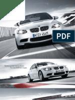BMW m3 Coupe Catalogue