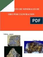 Lixiviación Minerales de Oro- Cianuración