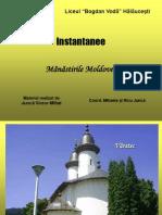 Manastirile Moldovei