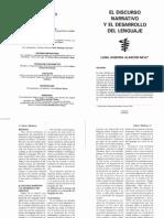 El Discurso Narrativo y El Desarrollo Del Lenguaje 2000