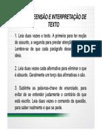 Sgc Inss 2014 Tecnico Lingua Portuguesa 01 a 24 Exercicios Com Gabarito