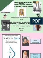 El Proceso Creativo en La Danza - libro la vida es arte