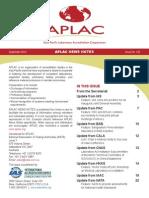 Aplac News Notes 120