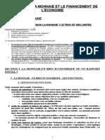 2416110 Chapitre Premiere Monnaieet Financement de l Economie 2007 2008 (1)