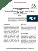 Resumo Expandido - Análise Da Variação Da Espessura Capilar via Difração
