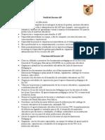 Funciones y Perfil Del Docente AIP