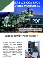 Control Estadístico de Procesos Cartas de Control Para Variables