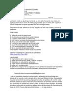 TALLER DE NIVELACION DE CASTELLANO GRADO 9°