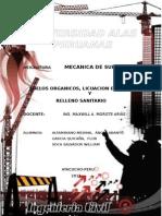 Trabajo Monografico RELLENO SANITARIO