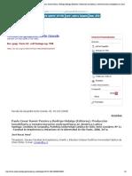 Revista de geografía Norte Grande - Paulo Cesar Xavier Pereira y Rodrigo Hidalgo (Editores)
