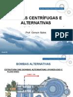 Bombas Cetrifugas e Alternativas