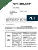 5to Programación Curricular Anual Del Área de Matemática (1)