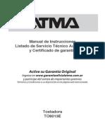 Manual Atma To8013e