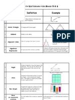 math dictionary - part 1-4