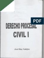 Material de Derecho Procesal Civil I