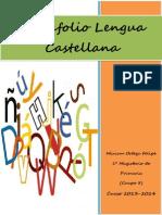 Lengua Castellana (Portafolio de Actividades)