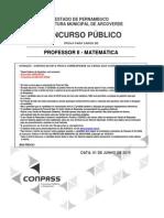 Pv_Matematica_Professor II -