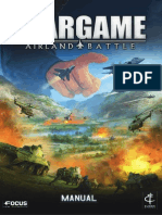 European War-game WALB Manual German