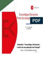 Situacao Portugal PORTO2010 CP
